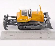 1:87 Scale Alloy Diecast LIEBHERR PR 744 Crawler Engineering Car Model Toy Gift