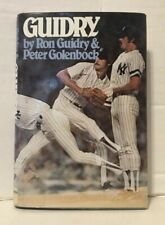 Guidry by Peter Golenbock and Ron Guidry (1980 Hardcover) 1st/1st Printing Book