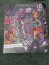 BOXED MATTEL MONSTER HIGH FIERCE ROCKERS 2 PACK: TORALEI STRIPE & CATTY NOIR