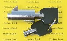 3x Admiral High Security Vending Machine Lock Tubular Key Keyed Alike