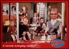 THUNDERBIRDS - A Normal Everyday Family? - Card #21 - Cards Inc 2001