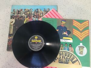"""The Beatles """"Sgt Peppers Lonely Hearts Club Band"""" – original 1966 edition."""