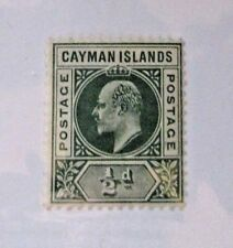Cayman Islands  SC #3 MH ½d stamp