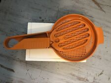 Tupperware Flour Sifter Orange Vintage