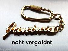 Uhren & Schmuck Geschenk- & Werbeartikel Edler SchlÜsselanhÄnger Celine Vergoldet Gold Name Keychain Keychain