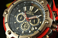 Invicta 52mm Bolt MARVEL Iron Man Chronograph Limited Edition Red Silicone Watch