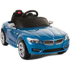 BMW Z4 Ride On Kids Car Battery Power Wheels w/ RC Remote Control Blue