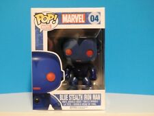 Funko Pop! Marvel BLUE STEALTH IRON MAN #04 Exclusive  +P/P