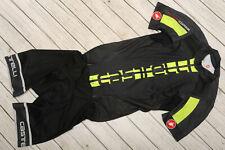 CASTELLI SANREMO 2.0 ROSSO CORSA - short sleeve speed suit MEN'S SKINSUIT - M