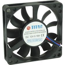 Ventola PC Case, 70x70x15mm, 12V, 3pin, Titan TFD-7015M12C