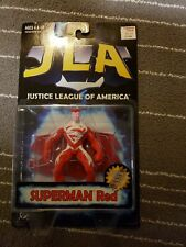New vintage JLA Superman Red Action Figure Hasbro