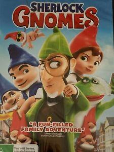 Sherlock Gnomes DVD Brand New