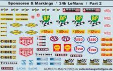 1:24th scale sponsor decals Le Mans Part 2