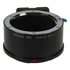 Fotodiox Pro Lens Adapter Leica R Lens to Nikon Z-Mount Z6 and Z7