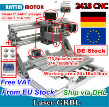3 Achse 2418 Graviermaschine Fräsmaschine Gravurmaschine CNC Router GRBL Control