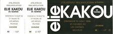 RARE / TICKET SPECTACLE COMIQUE CONCERT LIVE - ELIE KAKOU A MILHAUD 1995