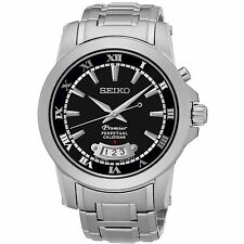 Seiko Men's Stainless Steel Silver Bracelet Watch SNQ147P1  RRP £279