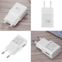 2A USB Adaptive Fast Quick Charging Phones Wall Charger Power for Samsung EU