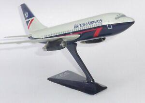Boeing 737-200 British Airways 1990's Vintage Wooster Snap Fit Model Scale 1:180