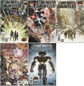 Infinity Gauntlet Secret Wars: Warzones #1-5 Marvel (2015) VF/NM