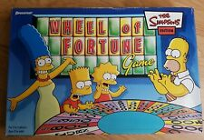 The Simpsons Wheel of fortune board game.  Original 2004, vgc rare