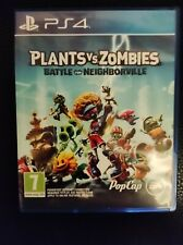 PS4 Juego: plantas Vs Zombies batalla por neighborville