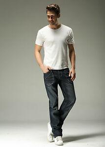 FOX JEANS Men's Carter Standar Fit Straight Blue Denim Jeans SIZE 40