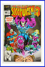 Sleepwalker #25 (Marvel, June 1993) Foil Cover NM Comic Book