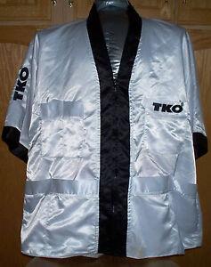 Authentic satin TKO Boxing corner jacket - Muhammed Ali (XL)