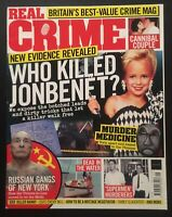 Real Crime Magazine 41 2018 New Leads In JonBenet Ramsey Case Cannibal Couple