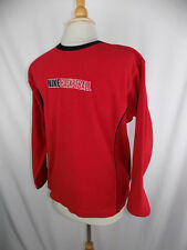 Nike Basketball Red Fleece Pullover Sweatshirt Youth Large