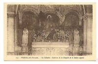verdelais   le calvaire  intérieur de la chapelle de la sainte-agonie