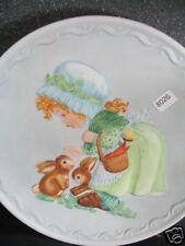 Fm 1982 Making Friends Debbie Bell Jarrett Rabbit Butterfly Ltd Ed Plate