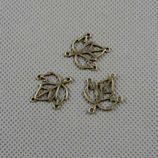 4x Craft Supplies Jewelry Making Pendants Findings Charms A12875 Maple Connector