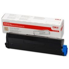 Black Genuine Original OKI Toner Cartridge B4600 p/n 43502002 (B)