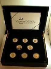 Very Heavy 16x28gm Proof Silver Coin Set Elizabeth II 2006 In Presentation Case