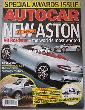 Autocar 15/11/2006 featuring Seat Leon Cupra,  Range Rover Sport, Land Rover,BMW