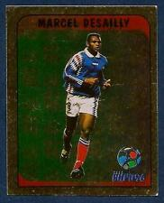 MERLIN-EURO 96 WITHDRAWN STICKER- #147-FRANCE/CHELSEA-MARCEL DESAILLY GOLD FOIL