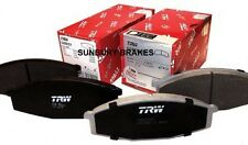 COMMODORE brake pads VE V6 & V8 TRW HIGH PERF  FRONT  2006 On