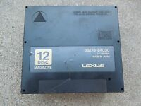 Lexus SC300 / SC400 12-Disc CD Changer Holder Cartridge Magazine '92 '94 '98 '00