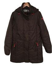 32 DEGREES WALKER Ladies Brown Hooded Weatherproof Padded Jacket Size L