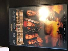 Pirates of the Caribbean: Curse of the Black Pearl (DVD 2-Disc Set) Collector Ed