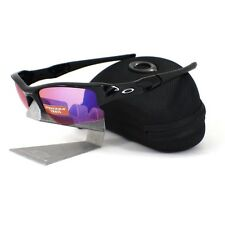 Oakley OO 9009-08 FLAK JACKET XLJ Polished Black Prizm Trail Mens Sunglasses