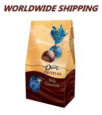 Dove Milk Chocolate Truffles Candy 5.31 Oz WORLDWIDE SHIPPING
