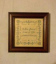 Scherenschniolk Art Cut Paper Friendship Blessings