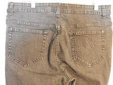 """Womens Faded Glory Black Bootcut Jeans Size 14 34""""x 32"""""""