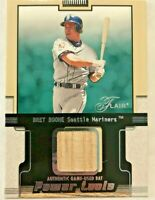 Bret Boone 2002 Flair Power Tools Seattle Mariners Game Used Bat Relic Card