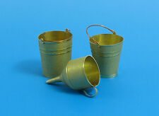 1/35 EUREKA XXL E-001 GERMAN WWII BUCKETS & FUNNEL for REFUELING