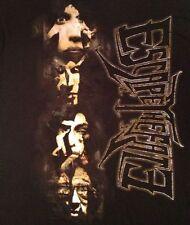 Escape The Fate Faces T Shirt Black Size Large L