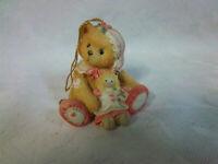 "Enesco Cherished Teddies For You Bear Christmas Ornament Figure 2.5"""